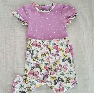 Butterfly outfit - 3-6 Months
